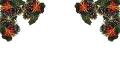 Christmas border. Stock Image