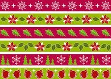 Christmas border. Royalty Free Stock Photography