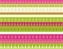 Christmas border. Royalty Free Stock Photos