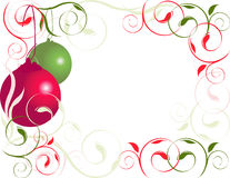 Christmas Border 2 Royalty Free Stock Photos