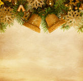 Christmas border. Royalty Free Stock Image