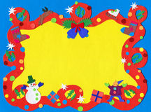 The Christmas Border Stock Images