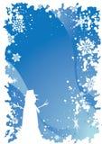 Christmas border 6 Stock Image