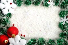 Christmas border Royalty Free Stock Photo
