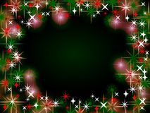 Christmas Border Background Stock Images