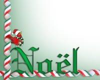 Christmas border background Noel Stock Image