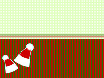 Christmas border. Royalty Free Stock Photography