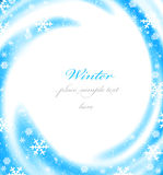 Christmas border card Royalty Free Stock Image