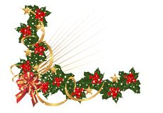 Christmas border, cdr vector Stock Photos