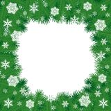 Christmas border Royalty Free Stock Image