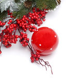 Christmas border design Stock Photography