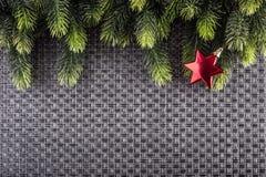 Christmas border design. Christmas Greeting Card Stock Photography