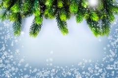 Christmas border design. Christmas Greeting Card Royalty Free Stock Image