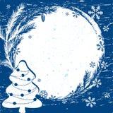Christmas  border. Design element. Stock Photos