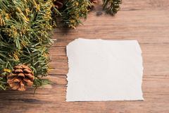 Christmas border design Royalty Free Stock Images