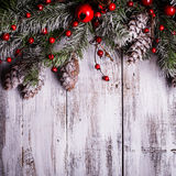 Christmas border design Royalty Free Stock Image