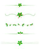Christmas Border/ divider Royalty Free Stock Images