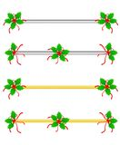 Christmas Border/ divider royalty free stock image