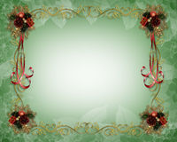 Christmas Border elegant  Royalty Free Stock Photography