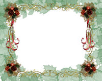 Christmas Border Fancy Stock Image