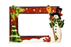 Christmas Border / Frame Stock Photography
