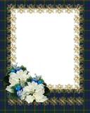 Christmas Border floral  Stock Photo