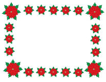 Christmas border frame Stock Photo
