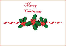 Christmas border2 Royalty Free Stock Photo