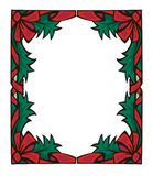 Christmas border I. Vector christmas border vector illustration