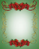 Christmas Border Illustration 3D Royalty Free Stock Image