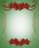 Christmas Border Illustration 3D Royalty Free Stock Image