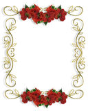 Christmas Border Illustration 3D Stock Photo
