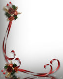 Christmas Border Illustration Stock Photos