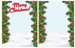 Christmas Border Royalty Free Stock Photography