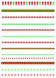 Christmas borders Stock Photos