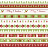 Christmas borders Royalty Free Stock Photo