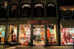 Christmas in Boston Store, Boston, MA. Stock Photo