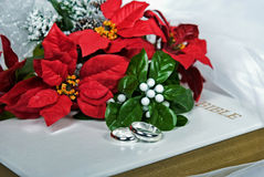 Christmas Bouquet Stock Photos
