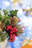 Christmas bouquet Royalty Free Stock Photo