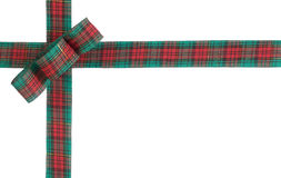 Christmas bow Stock Image