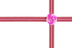 Christmas bow Stock Image