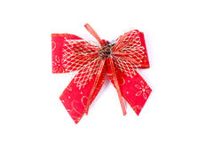 Christmas Bow Royalty Free Stock Images