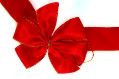 Christmas bow Stock Photo