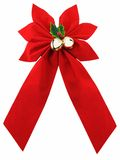 Christmas Bow Royalty Free Stock Photos