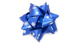 Christmas bow Royalty Free Stock Image