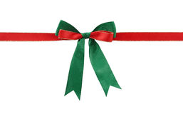 Christmas bow Royalty Free Stock Photography