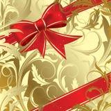 Christmas bow stock illustration