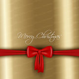 Christmas bow background Royalty Free Stock Photography