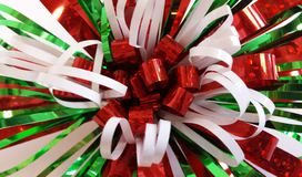 Christmas Bow background Stock Photography