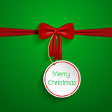 Christmas bow background Stock Photo